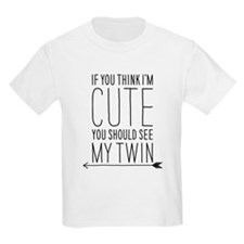 Unique Twin girls T-Shirt