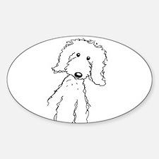 Unique Goldendoodle Sticker (Oval)