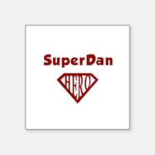"""Cute Dan Square Sticker 3"""" x 3"""""""