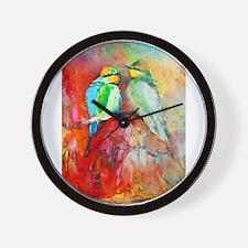Cute Bird songs Wall Clock