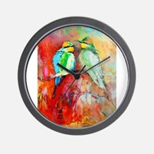Unique Beautiful abstract modern original painting print Wall Clock