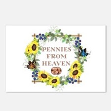 Pennies From Heaven Postcards (Package of 8)
