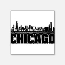 "Unique Places Square Sticker 3"" x 3"""
