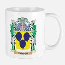 Gamboa Coat of Arms (Family Crest) Mugs