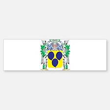Gamboa Coat of Arms (Family Crest) Bumper Bumper Bumper Sticker