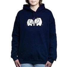 Elephants Women's Hooded Sweatshirt
