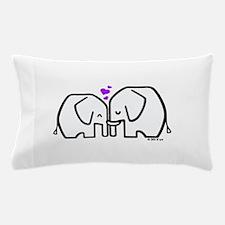 Elephants Pillow Case