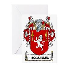 McNamara Coat of Arms Greeting Cards (Pk of 20)