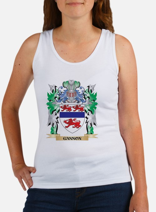 Gannon Coat of Arms (Family Crest) Tank Top