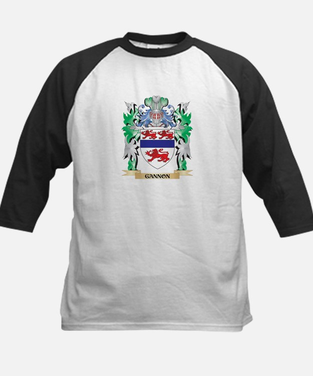 Gannon Coat of Arms (Family Crest) Baseball Jersey