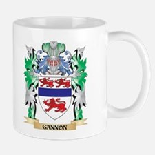 Gannon Coat of Arms (Family Crest) Mugs