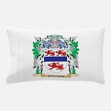 Gannon Coat of Arms (Family Crest) Pillow Case