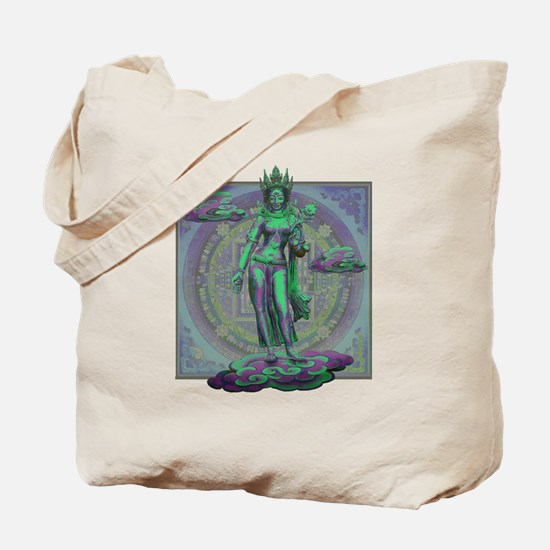 Cute Quan yin Tote Bag