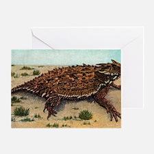 Cute Tcu horned frogs Greeting Card