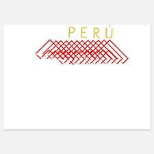 PERU 1821 Invitations
