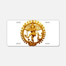Shiva - Cosmic Dancer Aluminum License Plate