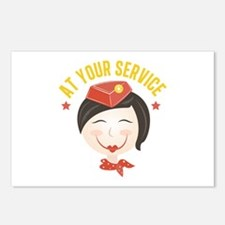 At Your Service Postcards (Package of 8)