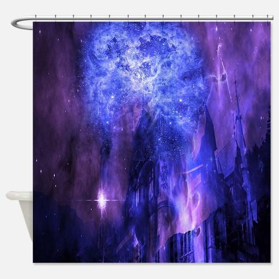 Unique Mysterious Shower Curtain