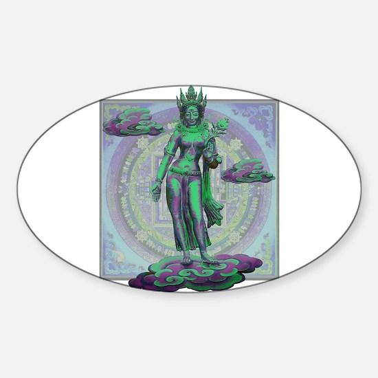 Tara Goddess Bodhissatva Stickers