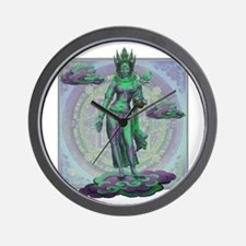 Tara Goddess Bodhissatva Wall Clock