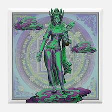 Tara Goddess Bodhissatva Tile Coaster