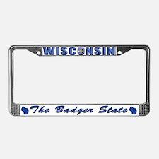 Wisconsin Drk Lpt License Plate Frame