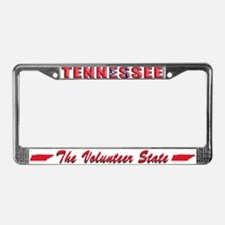 Tennessee Drk Lpt License Plate Frame