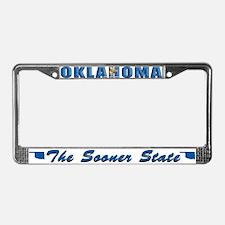 Oklahoma Drk Lpt License Plate Frame