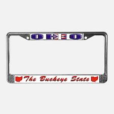 Ohio Drk Lpt License Plate Frame