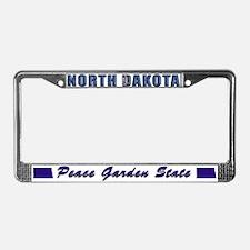 North Dakota Drk Lpt License Plate Frame