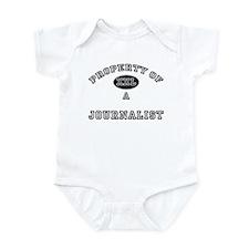Property of a Journalist Infant Bodysuit