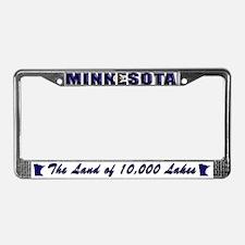 Minnesota Drk Lpt License Plate Frame