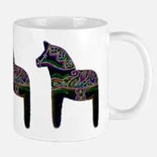 Unique Black horse Mug