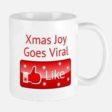 Xmas Joy Goes Viral Mugs