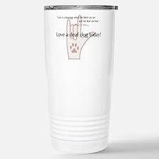 Cute English language Travel Mug