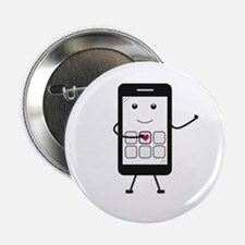 "Friendly Smartphone 2.25"" Button"