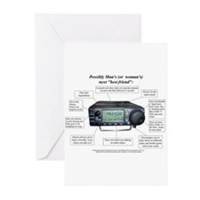 Cute Amateur radio Greeting Cards (Pk of 20)