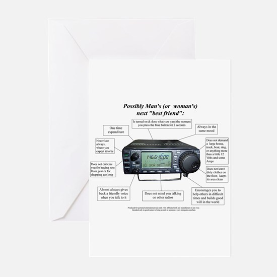 Unique Radio Greeting Cards (Pk of 20)