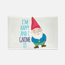 Happy Gnome Magnets