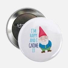 "Happy Gnome 2.25"" Button (10 pack)"