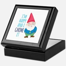 Happy Gnome Keepsake Box