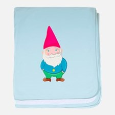 Gnome baby blanket