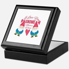 Love You Gnome Keepsake Box
