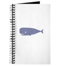 Friendly whale Journal