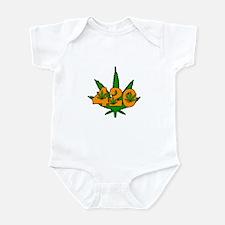 420 Pot Leaf Infant Bodysuit