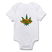 420 Pot Leaf Onesie