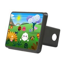 Happy Colorful Planet 01 Hitch Cover