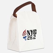 NYC Marathon Canvas Lunch Bag