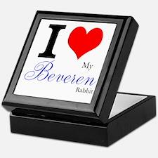 I heart my Beveren Keepsake Box