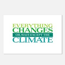 Everything Changes Except Postcards (Package of 8)